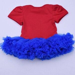 Повседневное фатиновое платье-пачка для маленьких девочек и повязка на голову с Бэтменом, летняя праздничная одежда для младенцев с суперг...