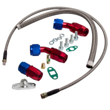 TURBO OIL DRAIN RETURN 10 AN + FEED LINE