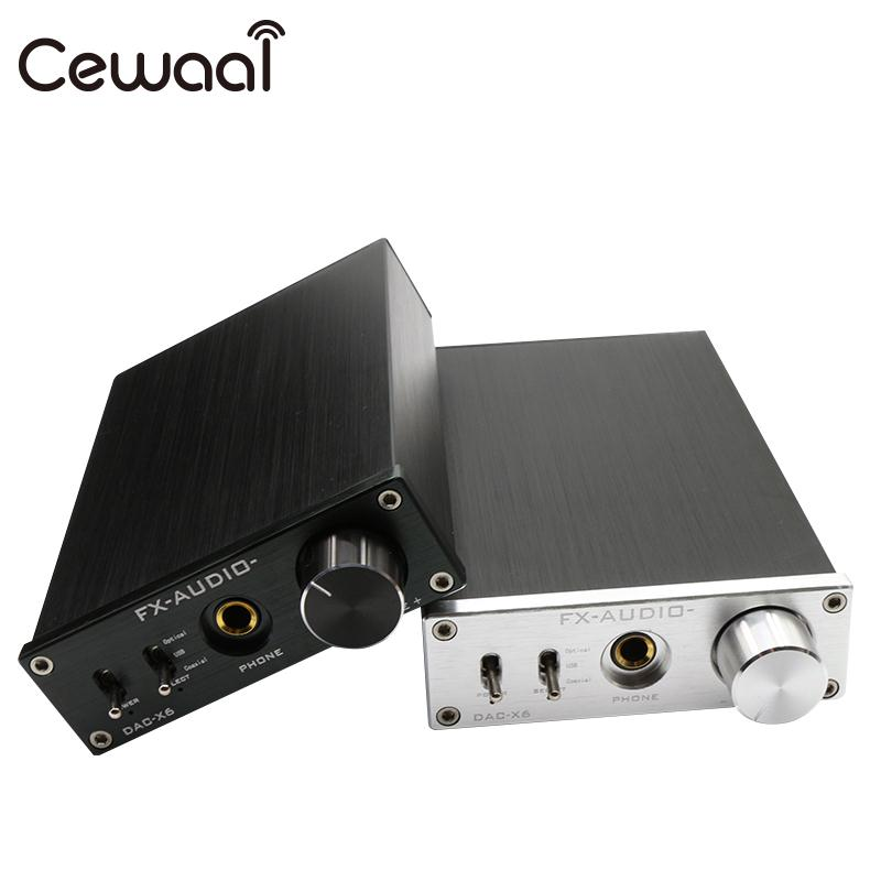цена на Digital Audio Amplifier Professional Optical Audio Amplifier Audio Decoder Headset FX Audio HIFI AMP