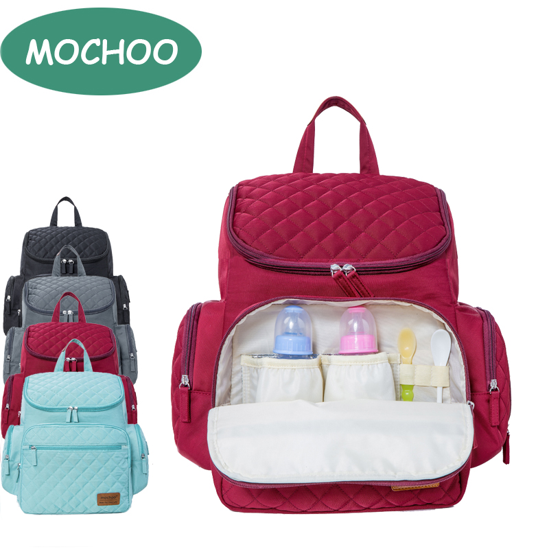 9395104f0e MOCHOO Diaper Bag For Baby Stuff Nappy Bag For Mom Travel Backpack Bolsa  Maternidade Bag For