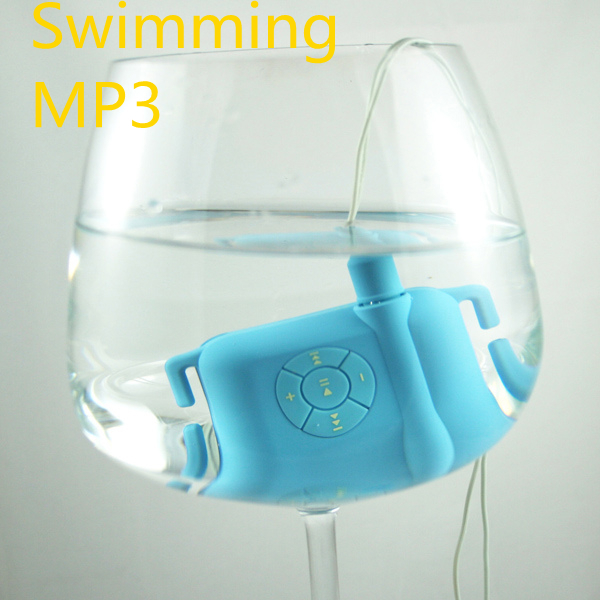 Swimming MP 3 High Quality Flac Ape 8GB IPX8 Headphones Waterproof Mp3 Player For Surf Scuba Diving Wearing Type Earphone Clip