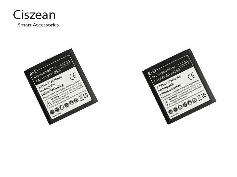 Ciszean 2x 2800mAh B600BC B600BE Replacement Battery For