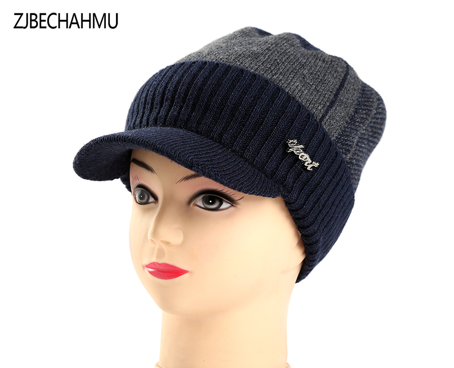 Winter Hats Skullies Beanies Hat Winter Beanies For Men Women Wool Fashoinable  Caps Balaclava Mask Gorras Bonnet Knitted Hat skullies