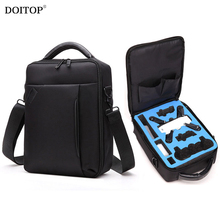 DOITOP Portable Waterproof Protector Bag Case Handbag Carry Bag for DJI Drone Storage Box Shoulder Bag For DJI Spark Drone