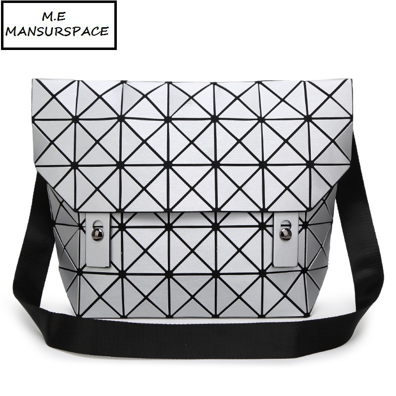 MANSURSPACE women Handbag bao Bag Female Folded Geometric Plaid Bag Fashion Casual Tote Women Handbag Mochila Shoulder Bag dvodvo women handbag baobao bag female folded geometric plaid bag bao bao fashion casual tote women handbag mochila shoulder bag