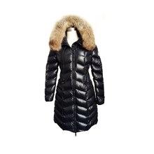 2016 winter Warm Down Coat Winter women's overcoat with hood fox collar hood girl's down jacket women