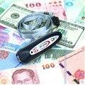 Portable mini examen con lámpara Ultravioleta moneda del detector del dinero del detector del dinero luz detector de dinero
