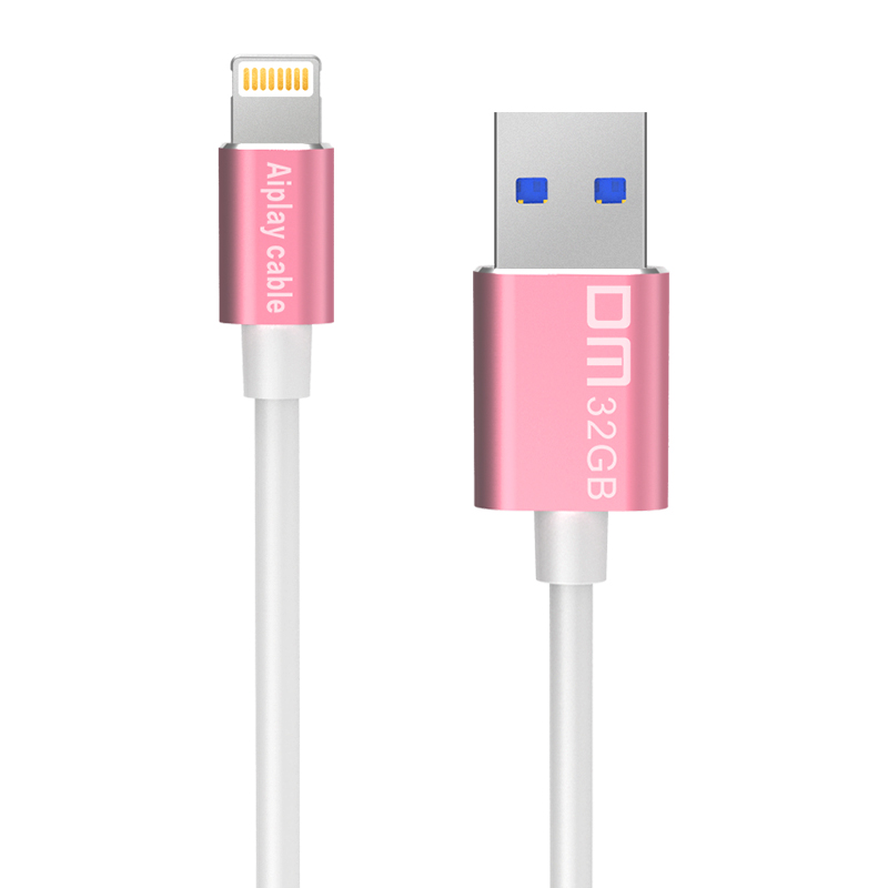 DM APD009 MFI USB 3 0 Flash Drives And Cable For Iphone For ipad font b