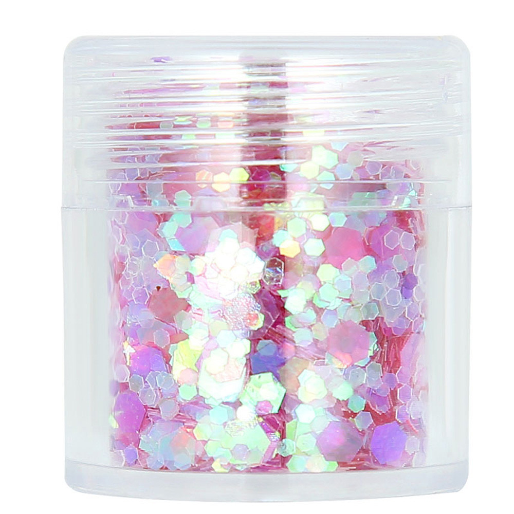 2019 Hot Loose Sequins Powder Glitter Shimmering Colors Eyeshadow Metallic Face Body Glitter Nail Art Decor Makeup Cosmetic New Eye Shadow Beauty & Health