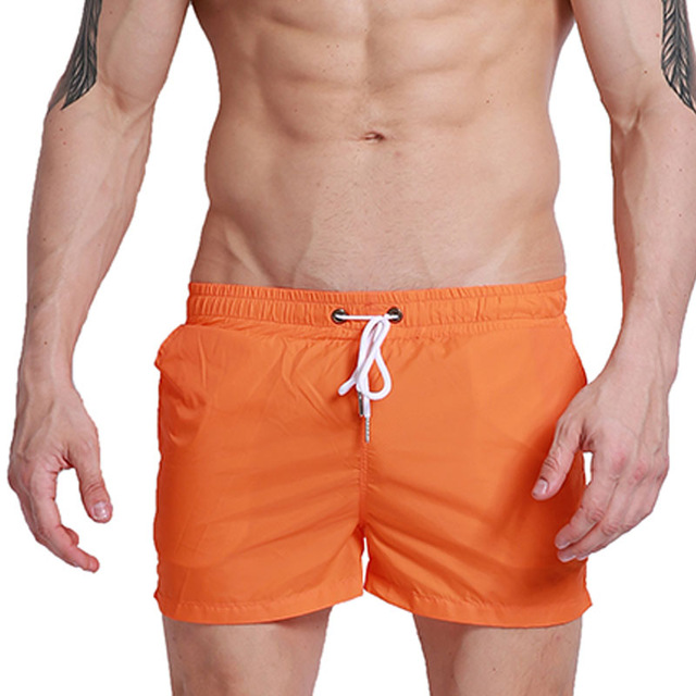 Brand Men   Board   Beach Swim   Shorts   Swimwear Quick Dry Man Bermuda Surfing Swimming Trunks Boardshort Running Sport   Short   Lining