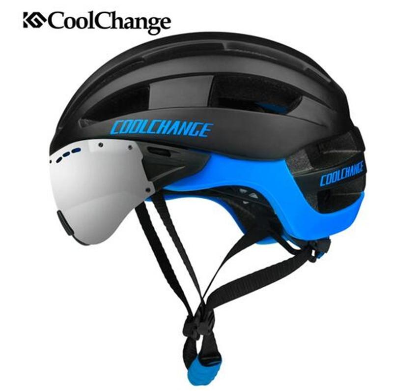 CoolChange jazda na rowerze kask EPS wiatroszczelna soczewki formowane integralnie kask rowerowy mężczyźni 16 otwory wentylacyjne MTB kask rowerowy Casco Ciclismo w Kaski rowerowe od Sport i rozrywka na AliExpress - 11.11_Double 11Singles' Day 1