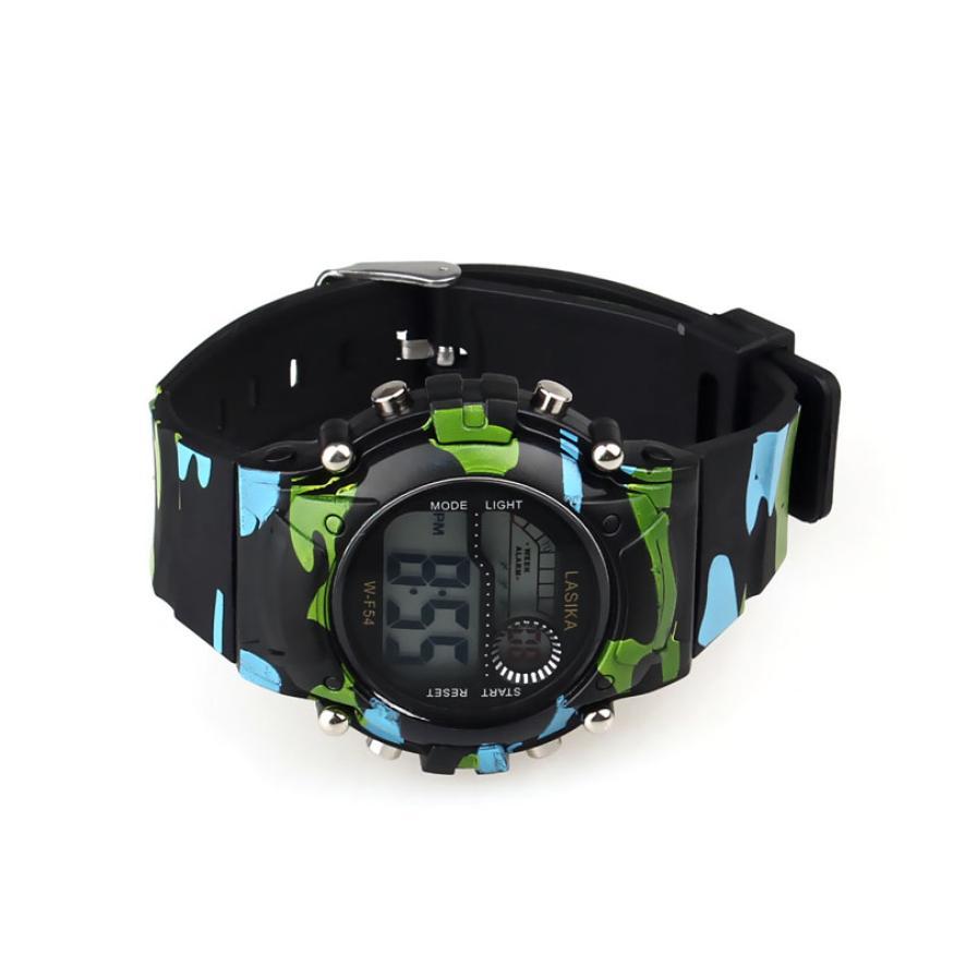 #5001 Leisure Man Watch 1PC Mens Boys Digital LED Analog Quartz Alarm Date Sports Wrist Watch