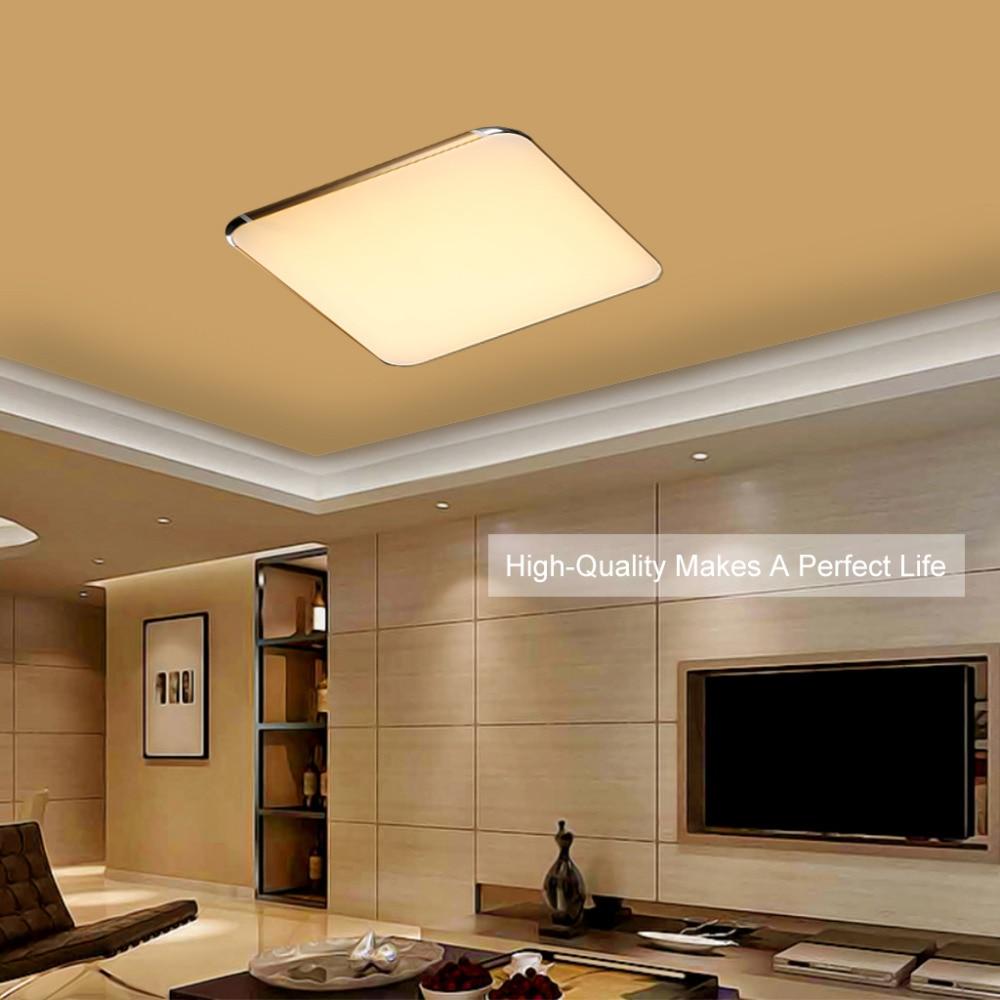 Flat Kitchen Ceiling Lights: Ceiling Lights Indoor Lighting Led Luminaria Abajur Modern