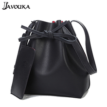 2pcs Fashion 2016 New Cross body font b Women s b font Handbags Leather PU font