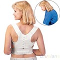 Magnetische Neopren Korsett Gürtel für Zurück Brace Posture Corrector Haarglätter Schulter für Brust Lindert Zurück Schmerzen
