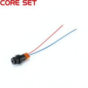 Image 2 - 10pcs/Lot DC 4.5V Laser Head Module Laser Point Dot Diode Red Plastic Gyro Module