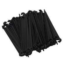 50Pcs/lot Plastic Fixed Stem DIY Micro Drip Irrigation Garden Plant Flowers Watering 4/7mm System Supply
