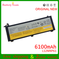 Genuino original l12m4p61 para lenovo u330 u330p u330t serie 2icp6/69/71-2 7.4 v 6100 mah baterías batteria 45wh