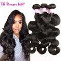 Onda del cuerpo del pelo brasileño sin procesar de la virgen brasileña del pelo 30 pulgadas brasileña ondulada del pelo 3 bundles alibaba expreso allove pelo