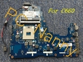 Para Toshiba Satellite Pro C660-219 Laptop Intel Motherboard PWWAA LA-6842P K000111440 HM55 S989
