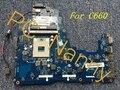 Por Toshiba K000111440 Pro C660-219 Laptop Intel placa madre - PWWAA LA-6842P HM55 S989