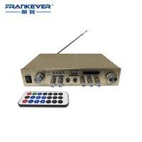 AV 908 Multifunction Digital Stereo Audio Power Amplifier Home Speaker USB TF FM High Quality