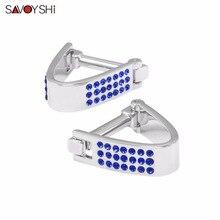 Здесь можно купить  SAVOYSHI Brand Luxury Crystal Cufflinks for Mens cuff buttons Accessories High Quality Wedding Cufflinks Gift Fashion Jewelry