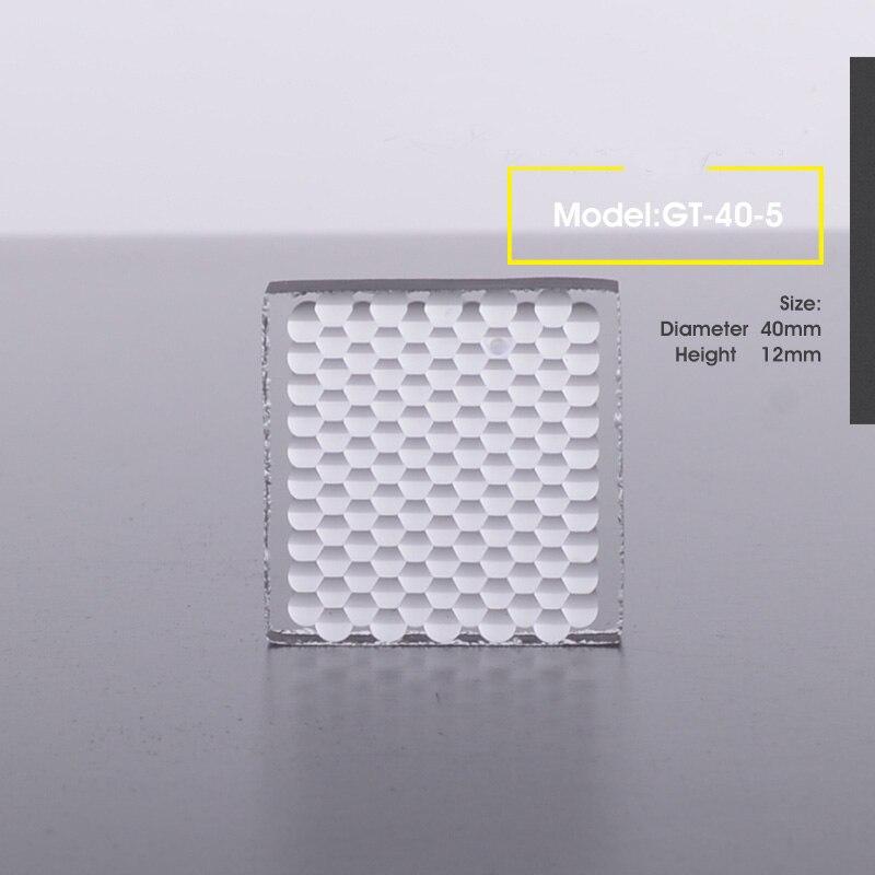 Verre optique oeil de mouche projecteur bricolage lumière Fresnel lentille phare GT-40-5