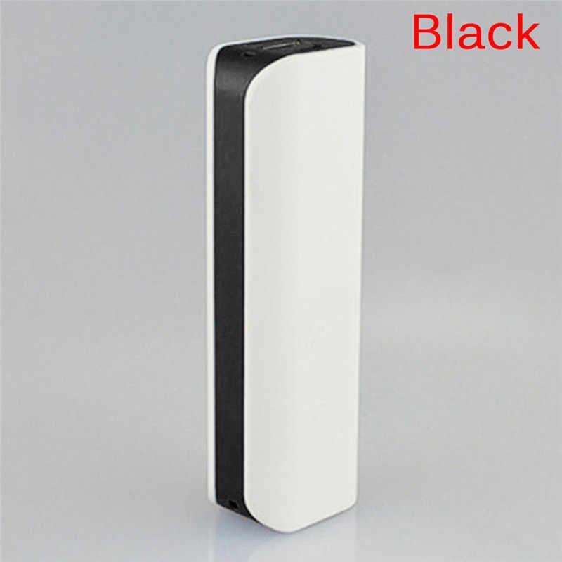 1 قطعة المحمولة Led Pover قوة البنك (لا بطارية المحمول قوة البنك 18650 مربع الهاتف شاحن diy حالة تجدد Powerbank المزدوج USB Poverbank