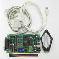 SPI 25xx PCB5.0T-2013 Willem EPROM programmer, BIOS009 PIC, ondersteuning 0.98d12, promotie clip PLCC32 + SOIC 8 pin adapter