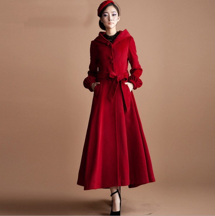 Compare Prices on Long Red Wool Coat- Online Shopping/Buy Low ...