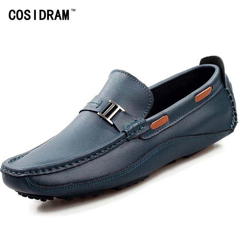 loafers genuine leather shoes best quality handmade