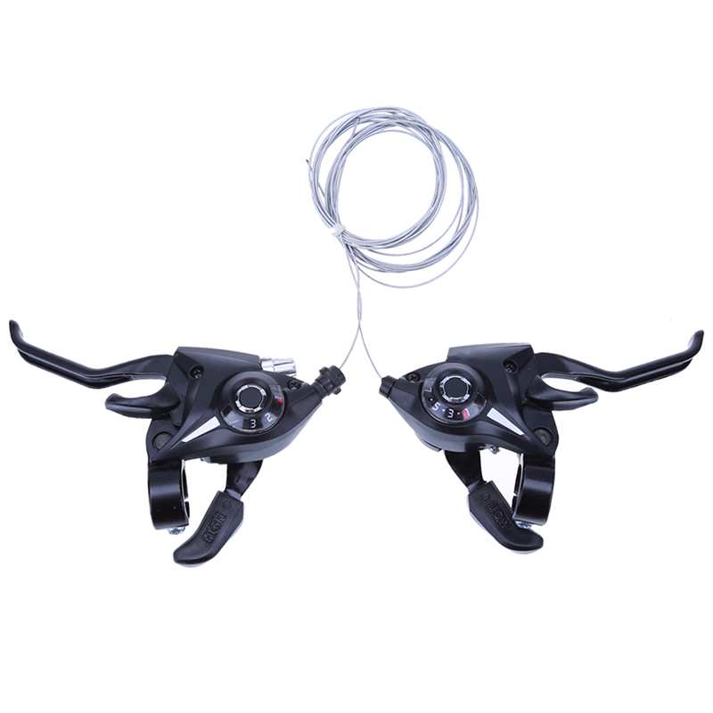 21 Speed Bicycle shifter brake conjoined DIP Derailleurs Mountain Bike road Handle Crank Levers Cilicsmo MTB Transmission New