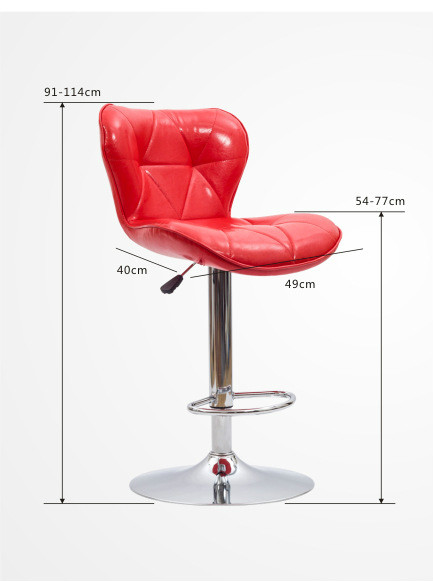 Bar Furniture Promotion Simple Fashion Bar Chair Recreational Chair Lifting Chairs Bar Stool Soft Comfortable Free Shipping