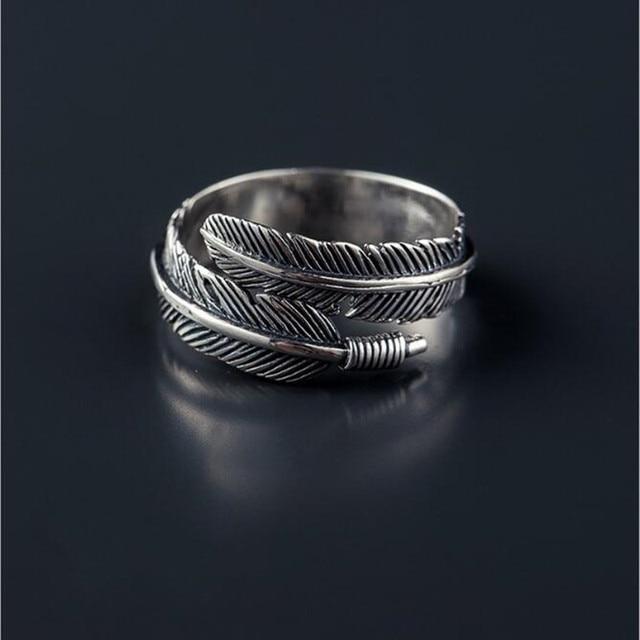 bague-plume-argent