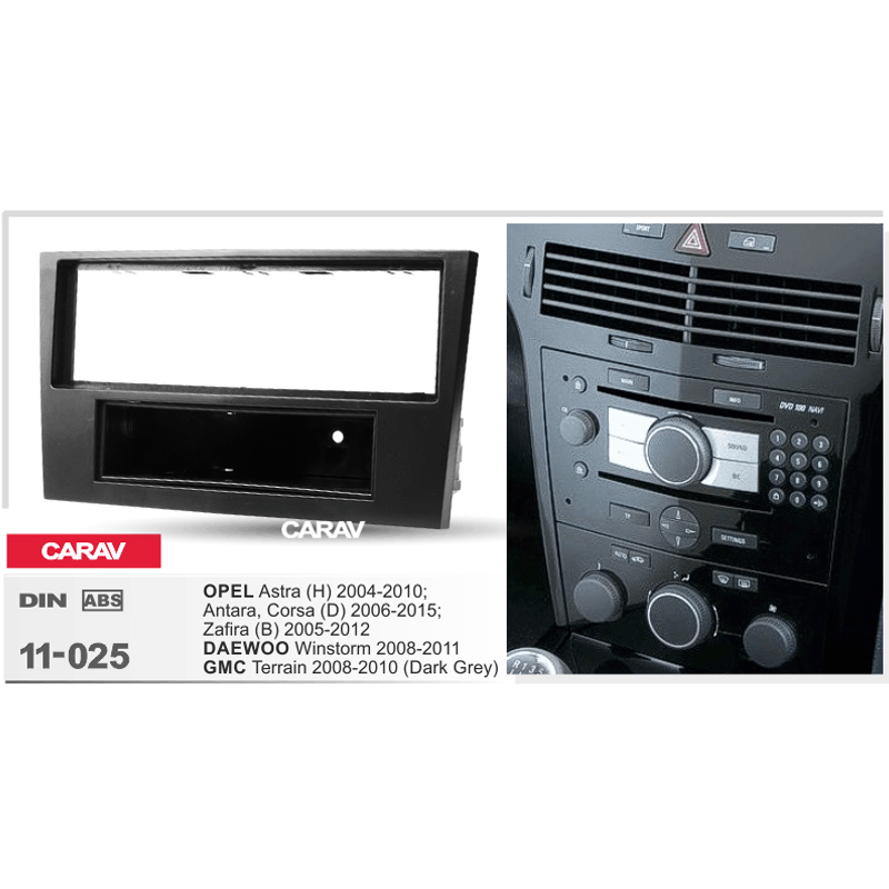 carav 11 025 top quality car frame radio fascia for opel. Black Bedroom Furniture Sets. Home Design Ideas