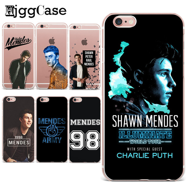 watch 3902e c1bb6 US $1.38 30% OFF|Shawn Mendes Magcon Soft TPU Transparent Cover Case for  iPhone 7 7 Plus 6 6S Plus 5 5S SE Case ultrathin silicone Cases Fundas on  ...