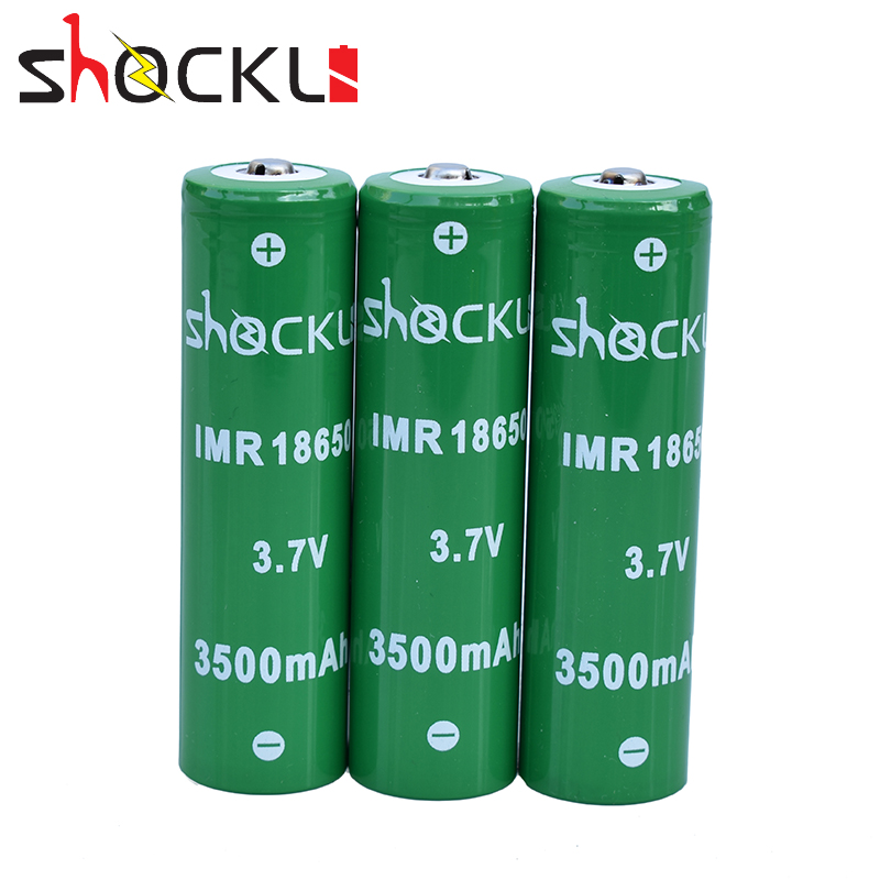 Shockli 18650 Rechargeable Battery 3500mah 3.7v 25a Li-ion Battery Inr18650 3500mah Batterie For High Power Flashlights,toys Consumer Electronics Batteries