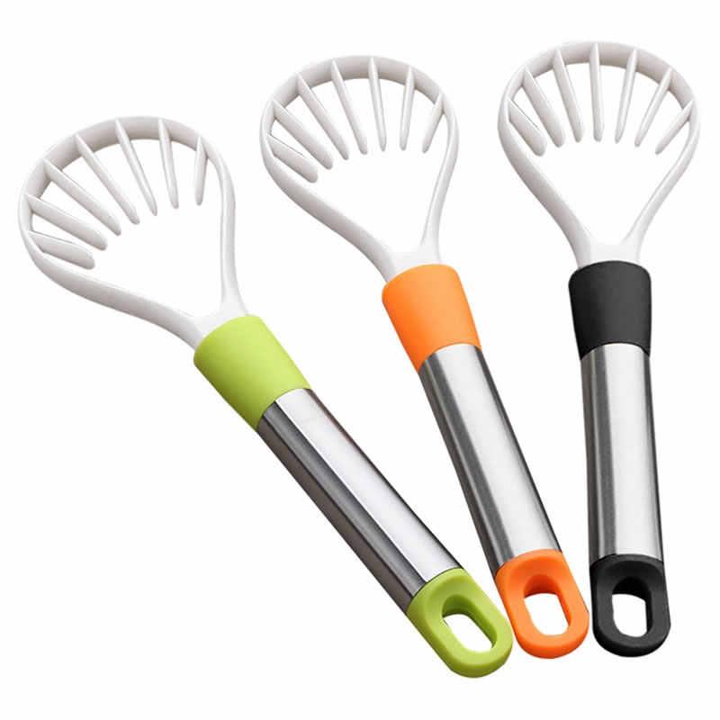 Separador de pulpa de fruta Upspirit, pelador de aguacate de plástico, rebanador de Mango, melón, kiwi, pelador de verduras, cortador rebanador, herramientas de cocina