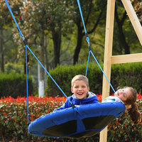 YONTREE 1PC 40 Flyer Nylon Swing Hanging Hammock Playground Toy Outdoor Furniture Stock In US