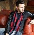Cachecol Top diseñador Hombres Bufandas de Cachemira Clásico de Invierno Caliente Suave Borla étnico bufanda de las bufandas Del Mantón de la bufanda de los hombres marca de lujo