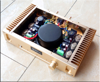 Human Voice Resolve Treble Best Of A Class A Audio Amplifiers Latest Perfect 1969 2N3055 Gold