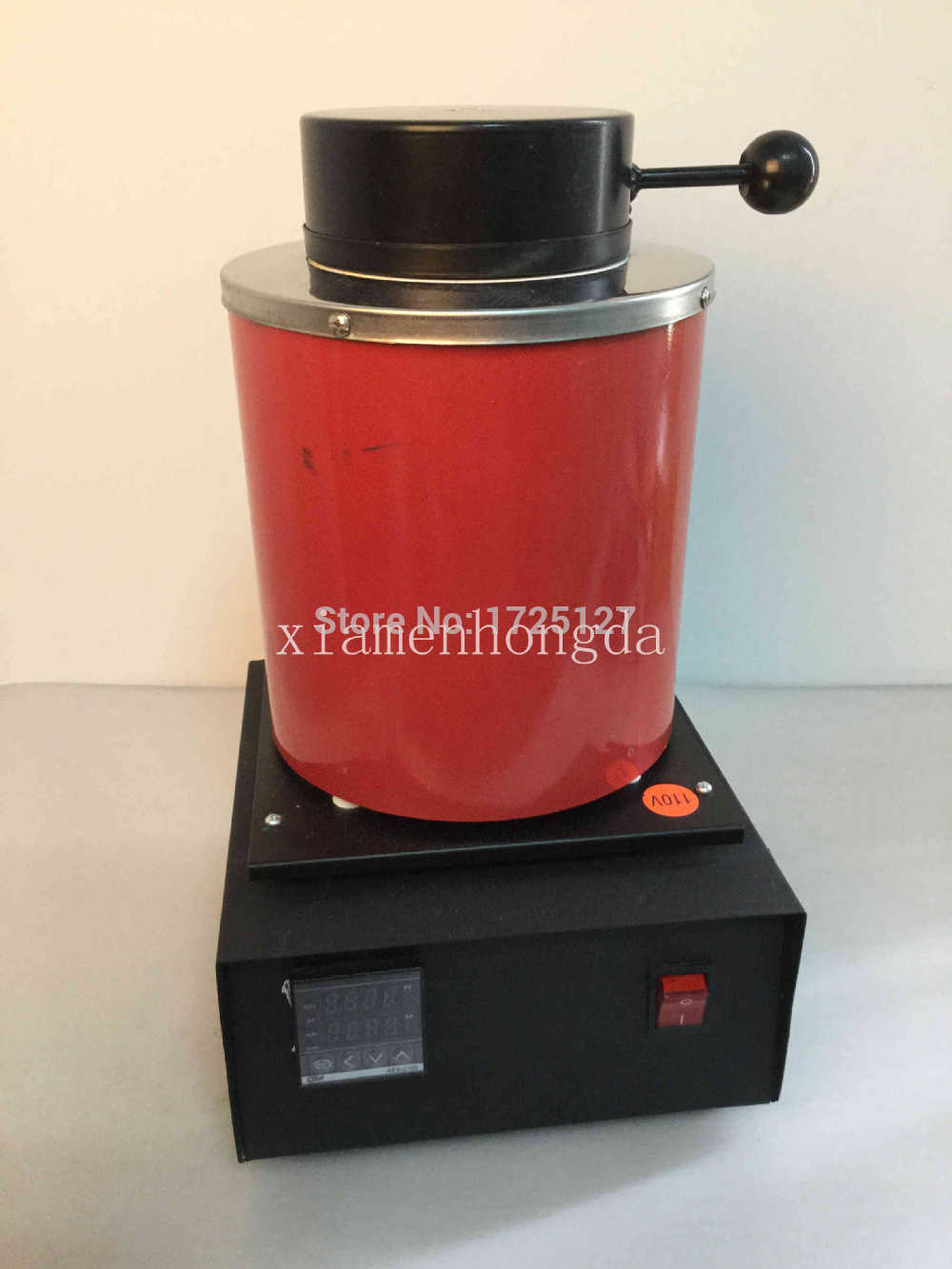 FREE SHIPPING 220 VOLTAGE AND 2KG CAPACITY GOLD ELECTRIC MELTING FURNACES WITH 1PC GRAPHITE CRUCIBLE & PLIER, MELTING FURNACE