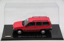 IXO Altaya 1:43 Scale Chevrolet Ipanema SLE 1992 Car Diecast Models Limited Edition Collection(China)