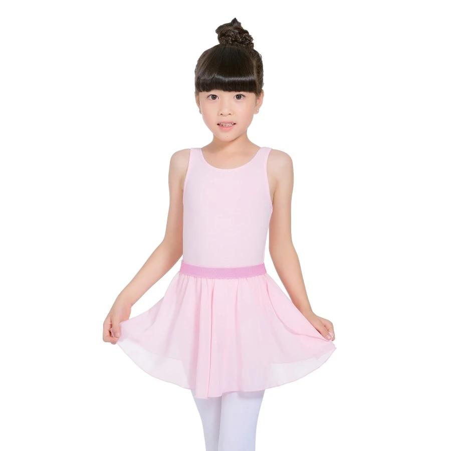 US Toddler Girls Ballet Dance Leotard Gymnastics Dancewear Kid Tutu Skrt Costume