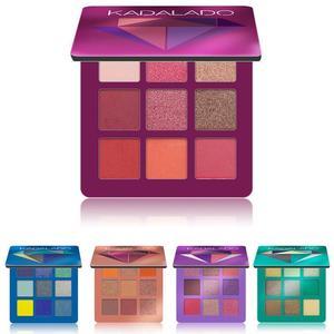 Image 5 - 9 renk göz farı paleti pırıltılı mat hediye göz farı kozmetik Glitter mat göz farı kalıcı çıplak pırıltılı makyaj göz