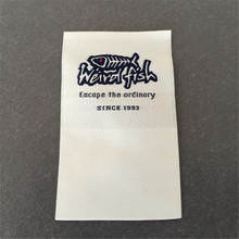 OEM Customized High Defenition Garment Label/Woven Label