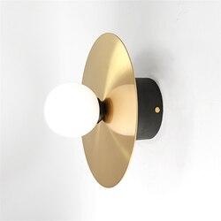 JAXLONG nowoczesne światła lampy ścienne projekt Led kryty kinkiet aluminium restauracja kawiarnia jadalnia wiszące ścienne oprawa światła w Wewnętrzne kinkiety LED od Lampy i oświetlenie na