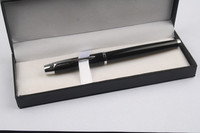Quality Metal Roller Pen Male Women With Delicate Flannelet Metal Roller Pen With Gift Box