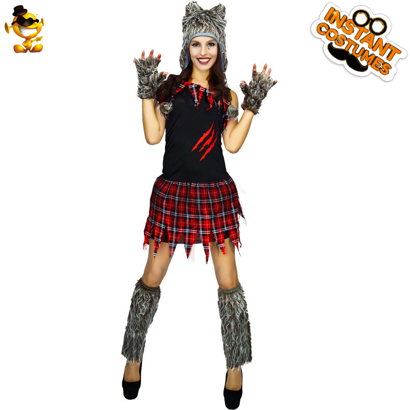 wolf cosplay animal costume outfits temperament fashionable dsplay carnival funny
